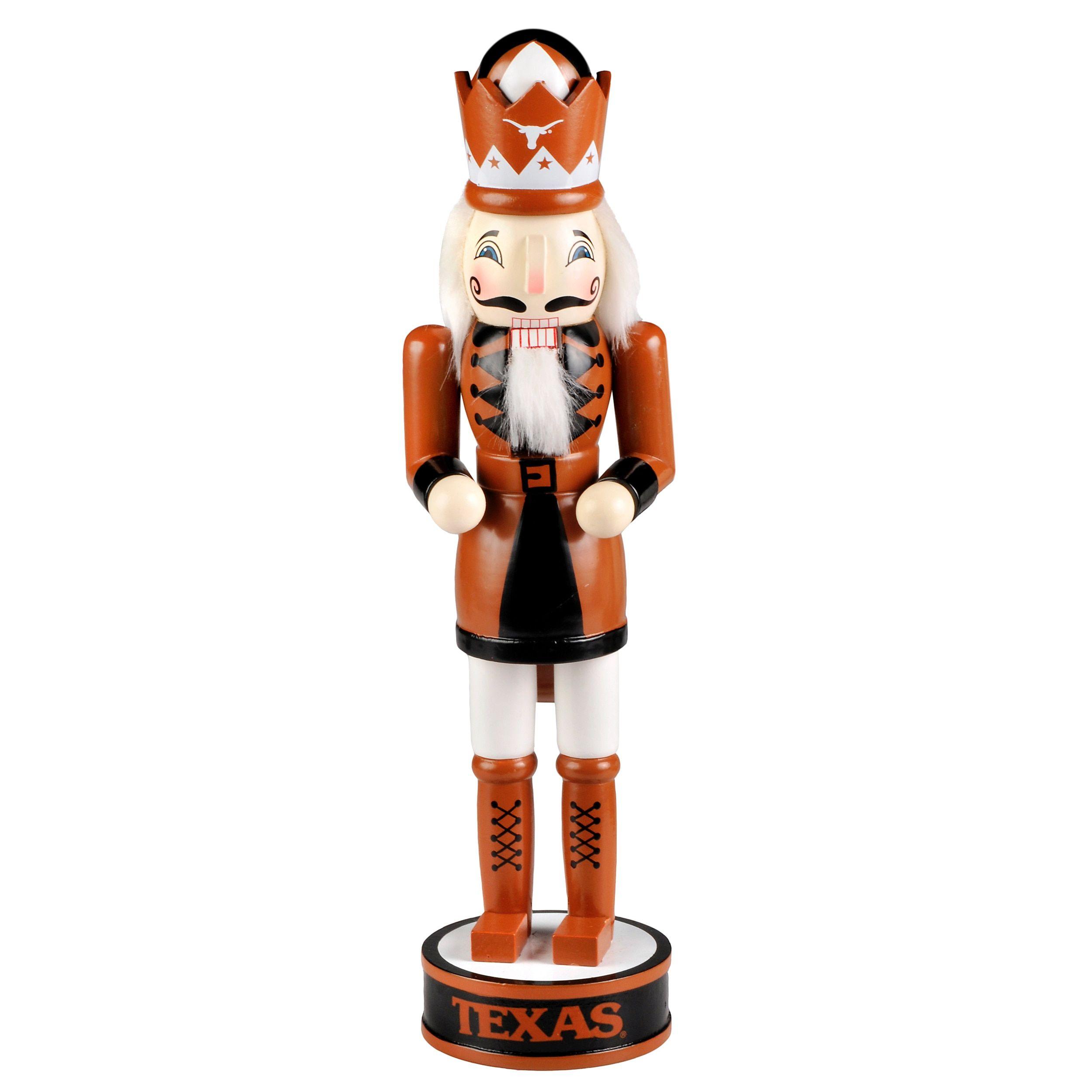 Forever Collectibles Texas Longhorns 14-inch Collectible Nutcracker