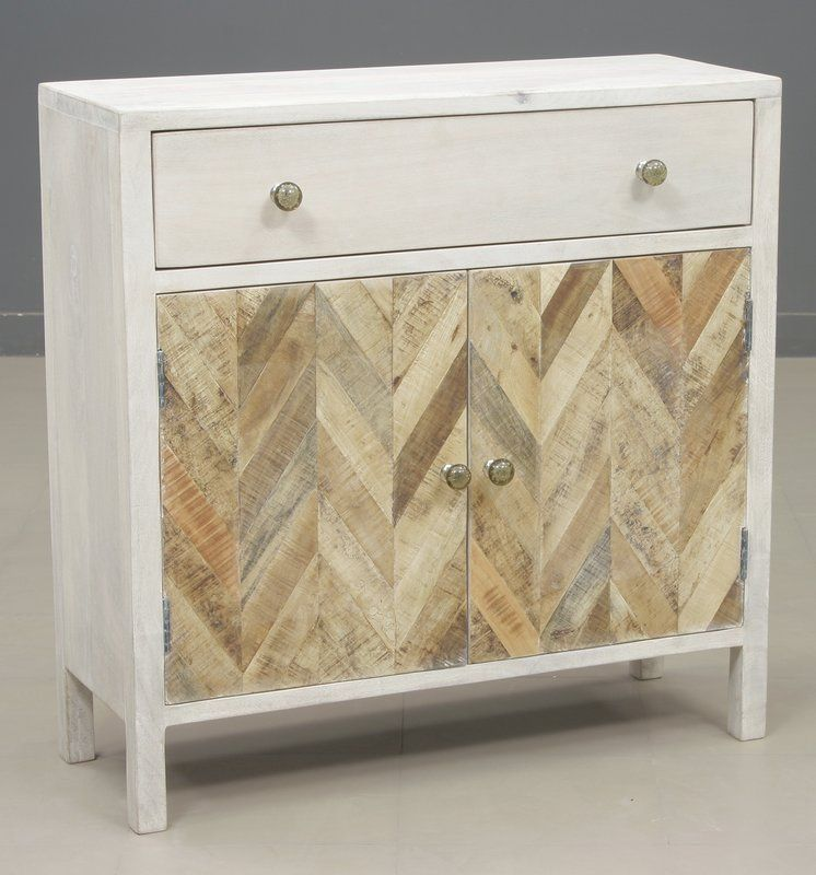 Islemade 1 Drawer 2 Door Accent Cabinet Accent Cabinet Accent Doors Cabinet
