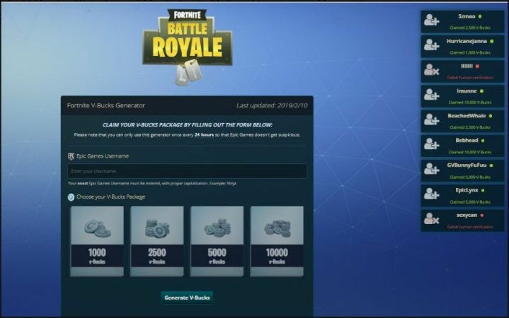 Fortnite V Bucks Cheats and Hack Tools Online Resources ...