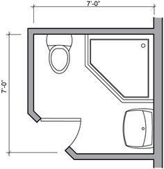 9c5687bd22cf24916034e56619979b57 Tiny Bathroom Bidet Blueprint Cerca Con Google Bathroom On Toilets Floor Plan