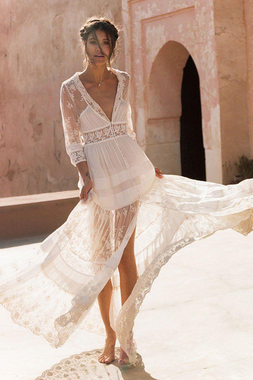 Mila De Wit-Bourke wears Spell Designs Evangeline Gown | love ...