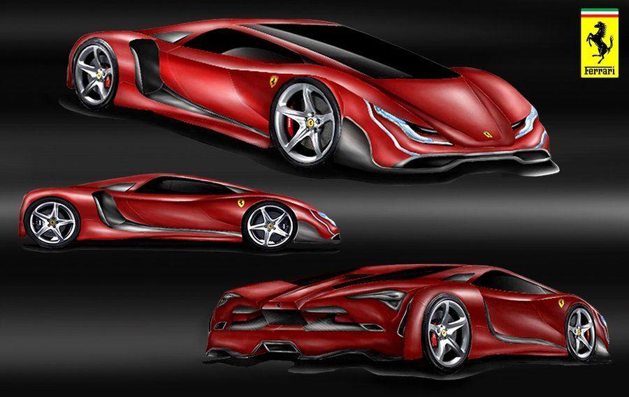 Ferrari Supercar Design Concept by toyonda on DeviantArt