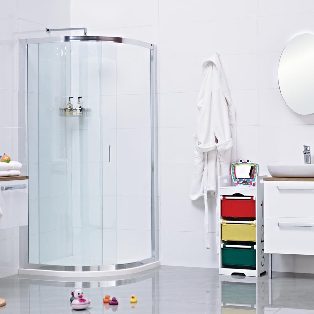 The Lumin8 One Door Quadrant Shower Enclosure An Ideal Solution