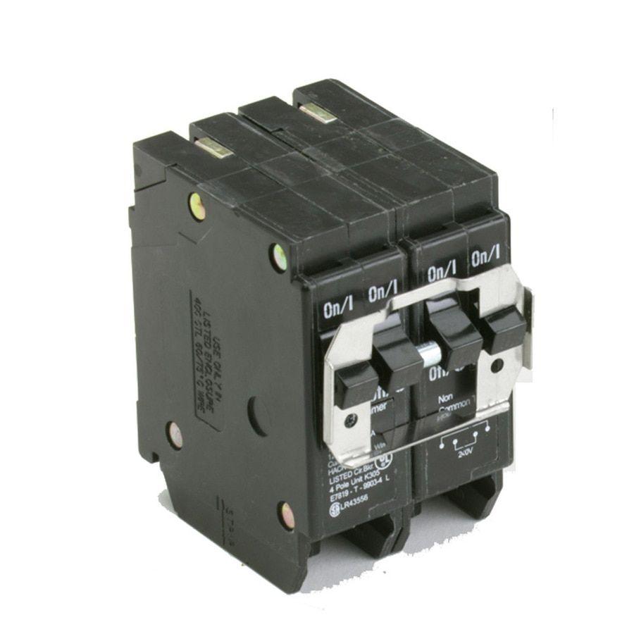 Eaton Type Br 50 Amp 4 Pole Quad Circuit Breaker Bqc250250 In 2020 Eaton Corporation Circuit Quad