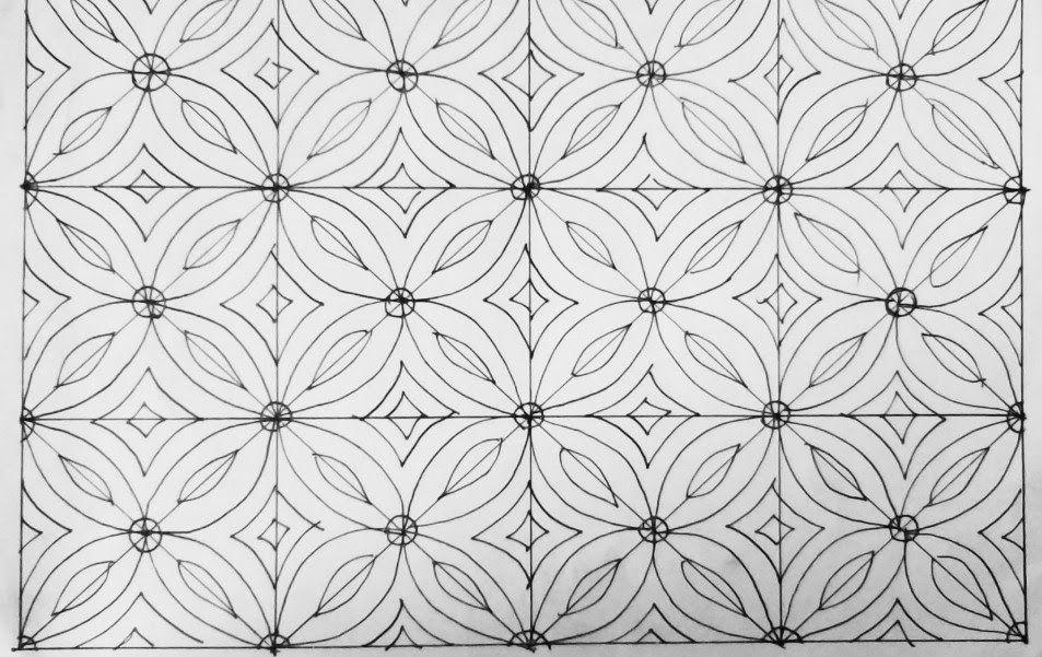Fantastis 26 Gambar Batik Keren Mudah Di Gambar Di 2021 Gambar Bunga Mudah Buku Gambar Batik