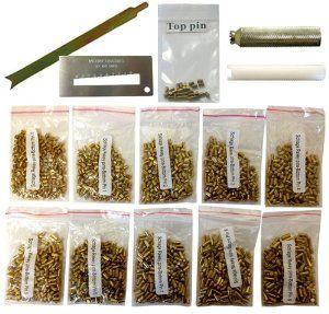 100 Schlage Bottom Pin #7 Rekey Pin Rekeying Pin Kit