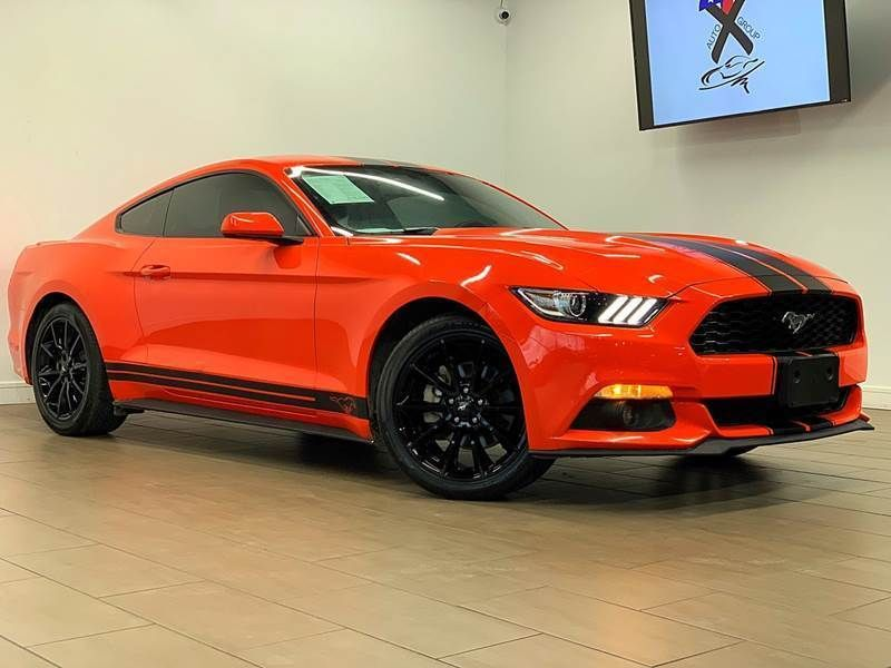 Ebay 2016 Mustang Ecoboost 2dr Fastback Ford Mustang Orange With