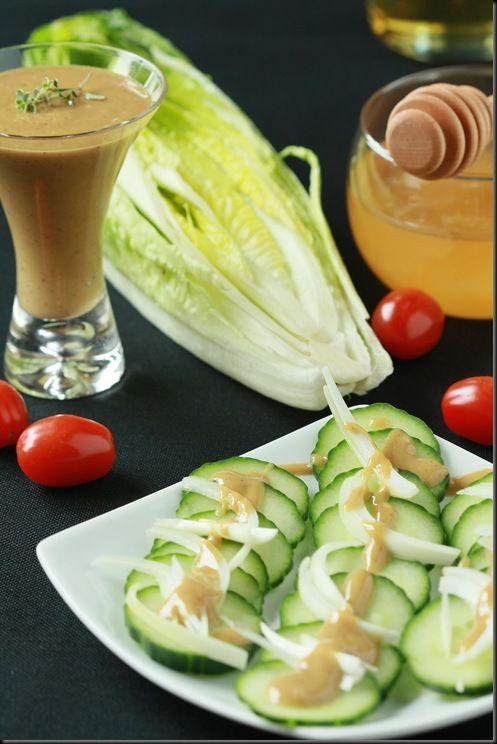 Honey-Mustard Salad Dressing | Honey mustard salad ...