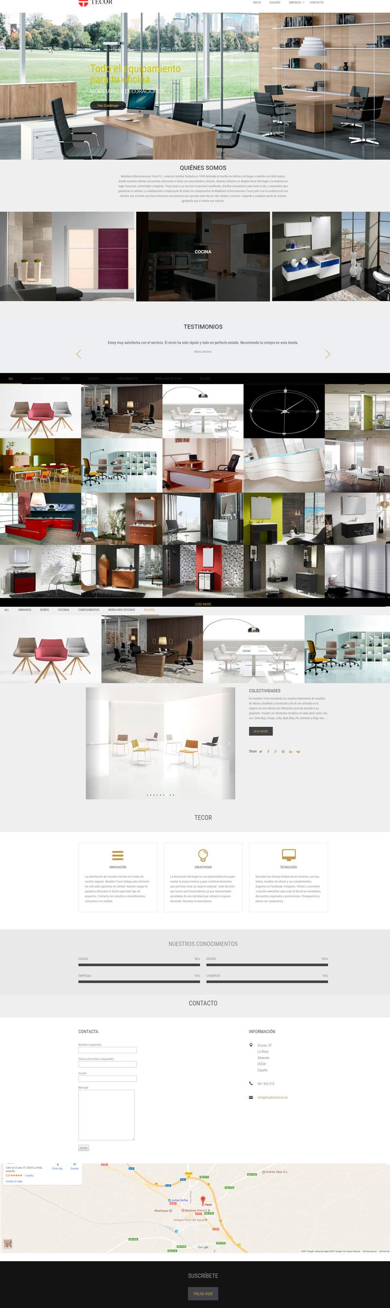 Este Dise O Que Hemos Creado En Modo Es Para Un Cliente De Venta  # Muebles Pagina Web