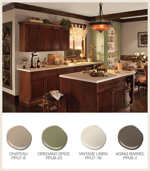 Colorfully Behr Easy Kitchen Color Ideas Kitchen Colors Kitchen Color Palettes Painted Kitchen Cabinets Colors