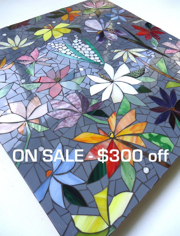 A LA VENTA AHORA! 2 pies x 2 pies mosaico panel - en stock - diseño ...