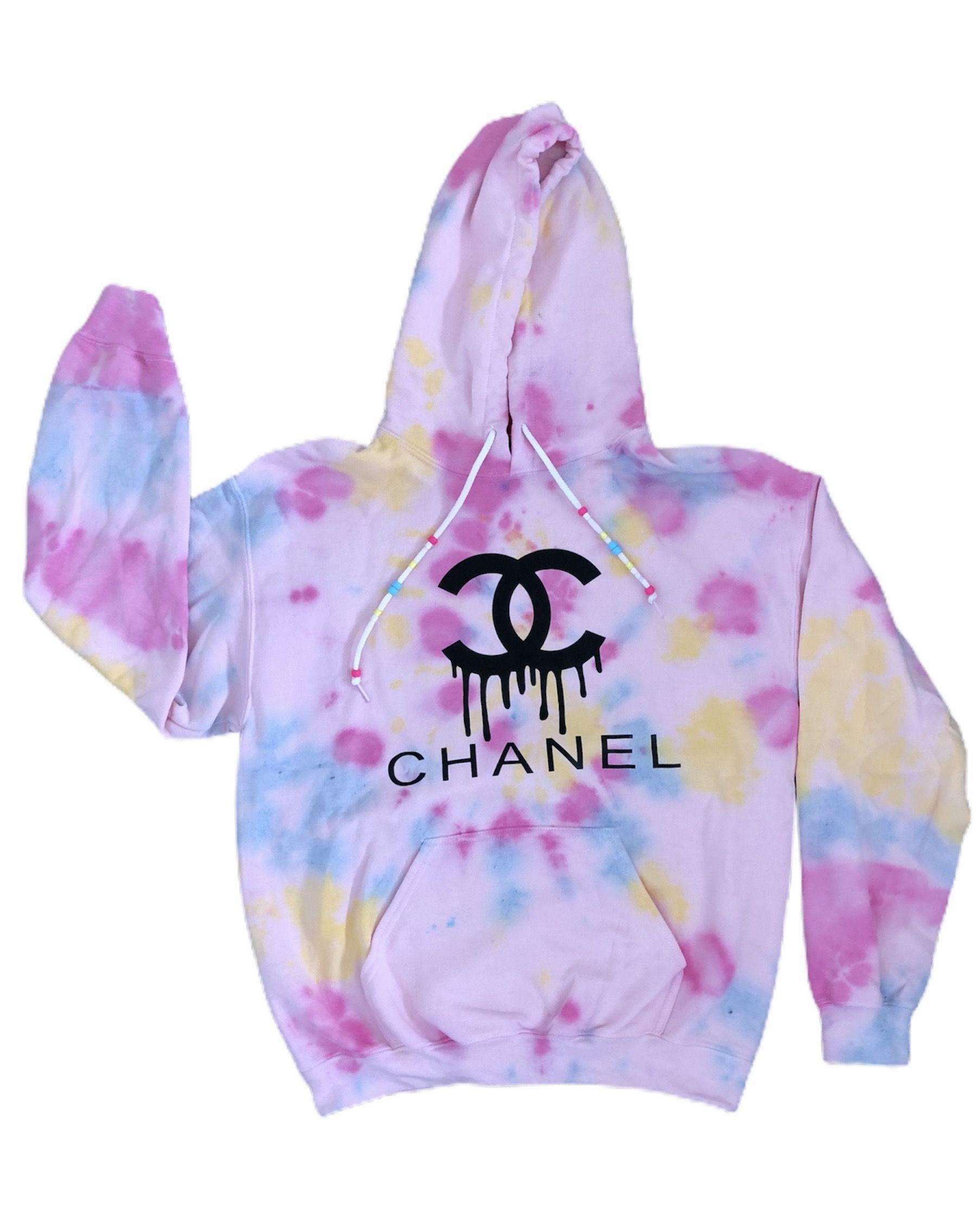 Chanel Tie Dye Hoodie Tie Dye Hoodie Hoodies Tie Dye [ 2270 x 1800 Pixel ]