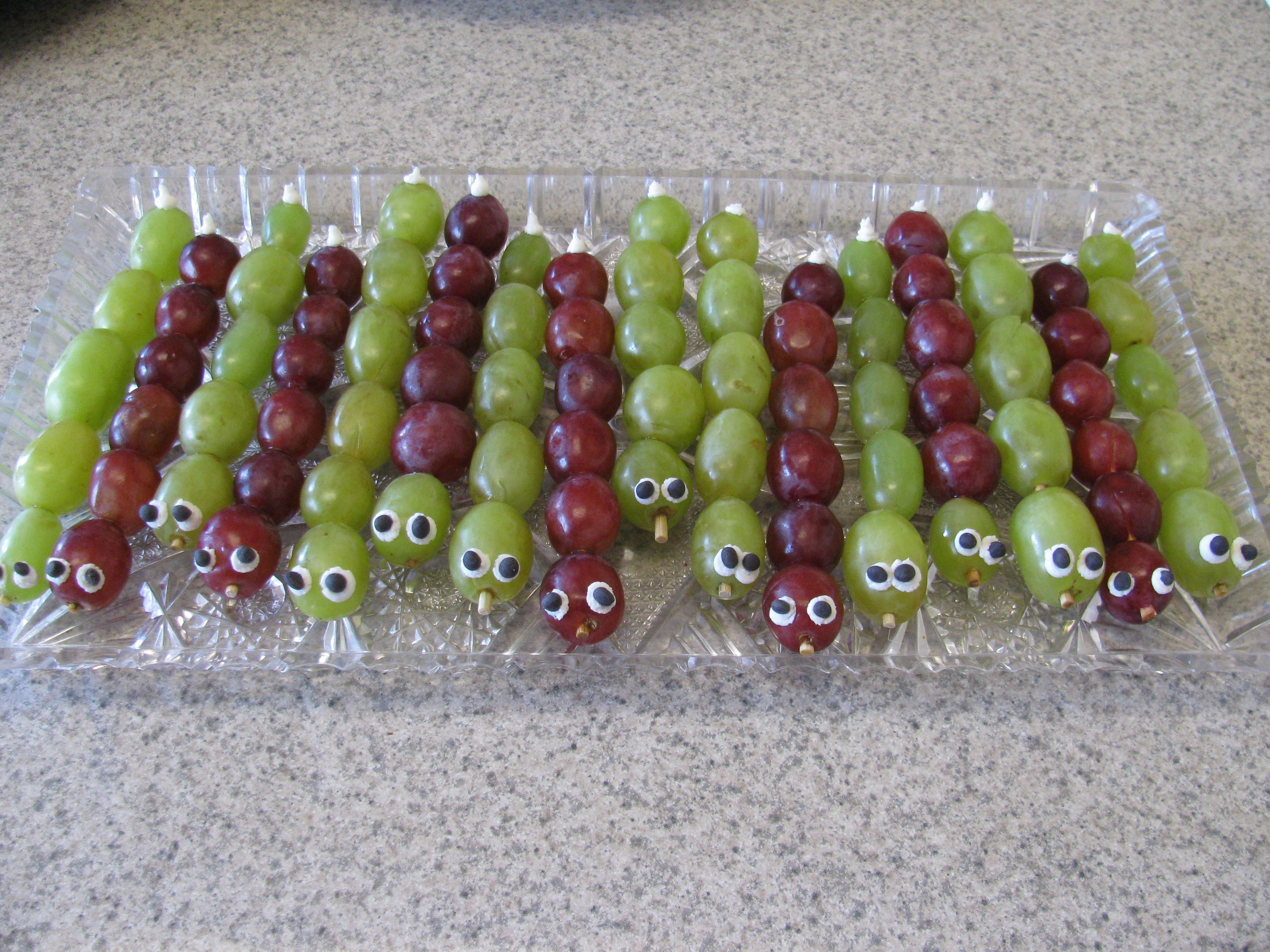 caterpillar grapes for kids bug party preston birthday party