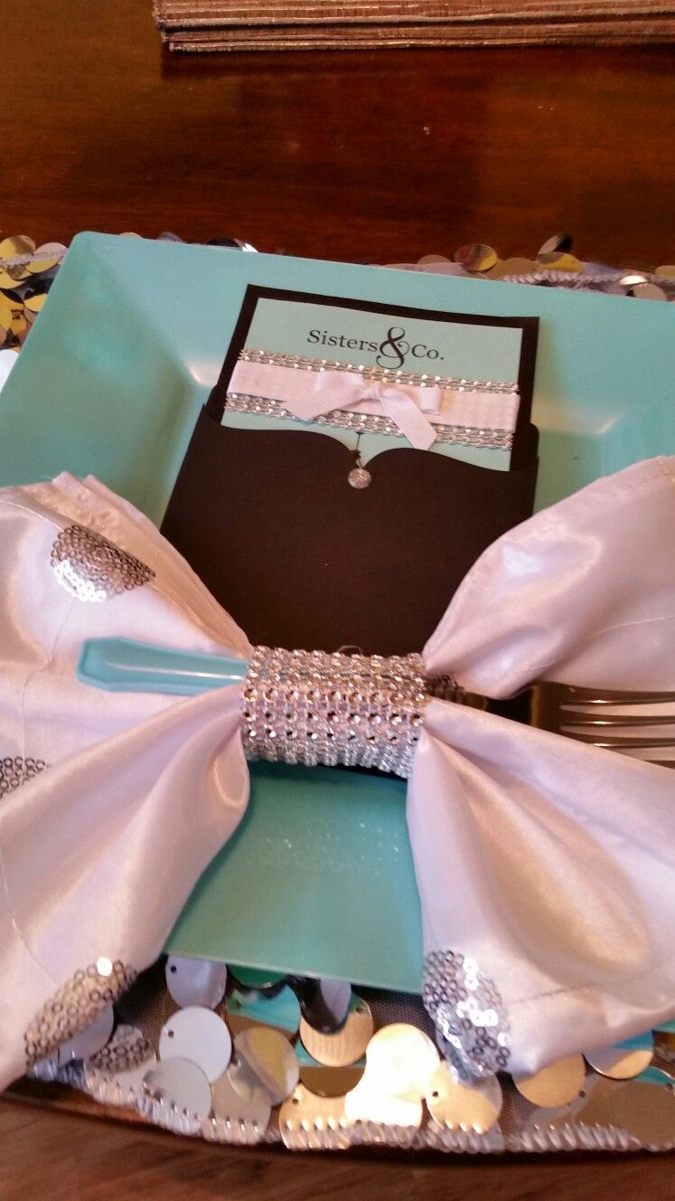 Sisters and company  Tea party  coming  sooner Table setting