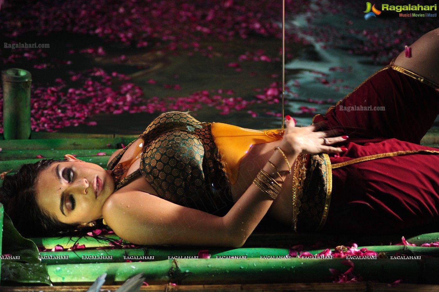 South Indian Movie actress: Sheena Shahabadi Hot Navel Photos