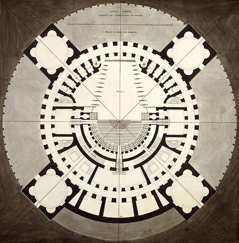 Claude-Nicolas Ledoux\u0027s La ville de Chaux (1804) Architecture
