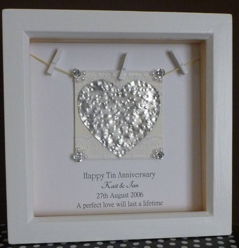 10th Anniversary Gift 10th Wedding Anniversary Gift By