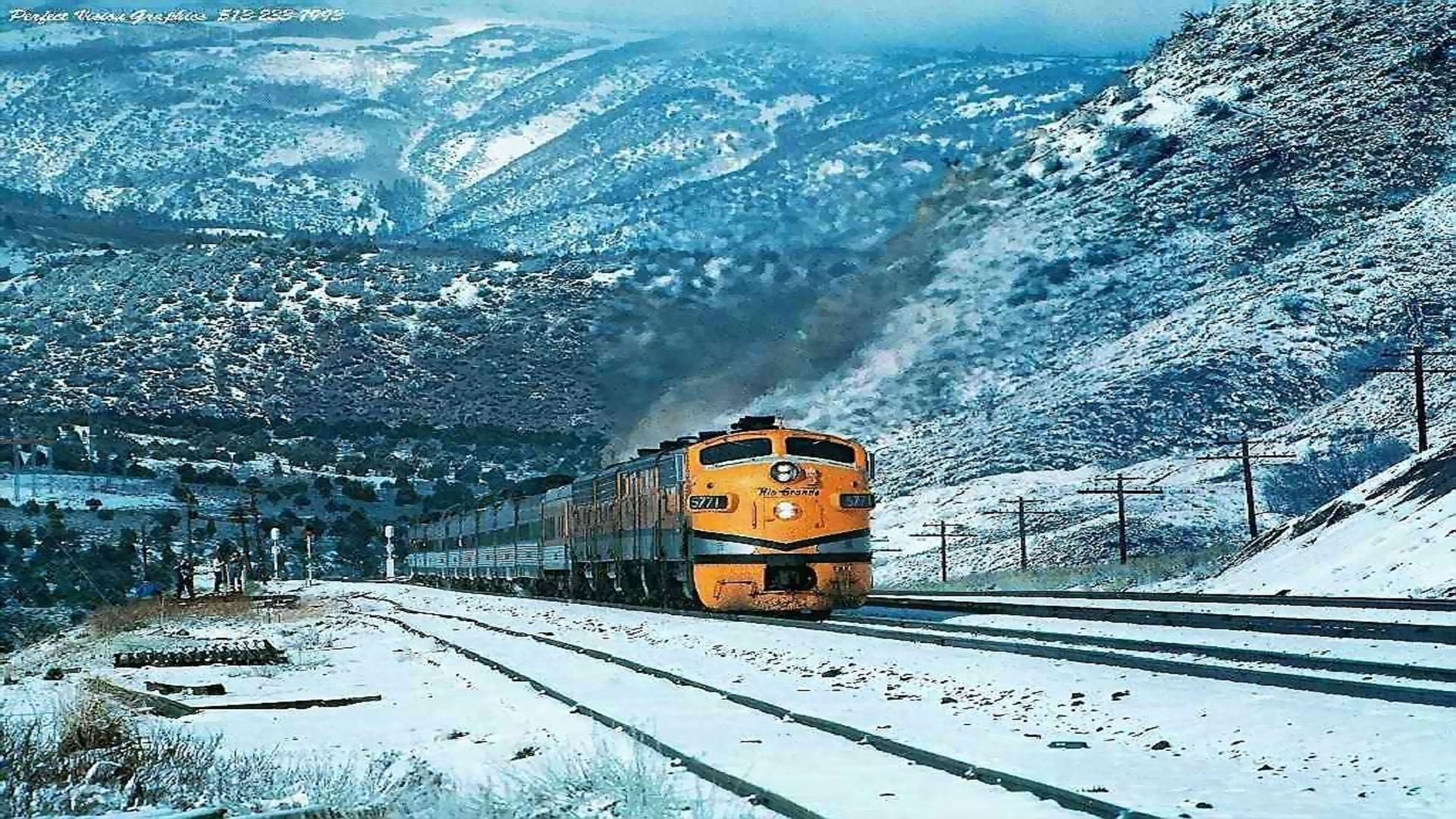 train in mountains at winter free desktop background trains in the snow pinterest desktop backgrounds wallpapers and pictures