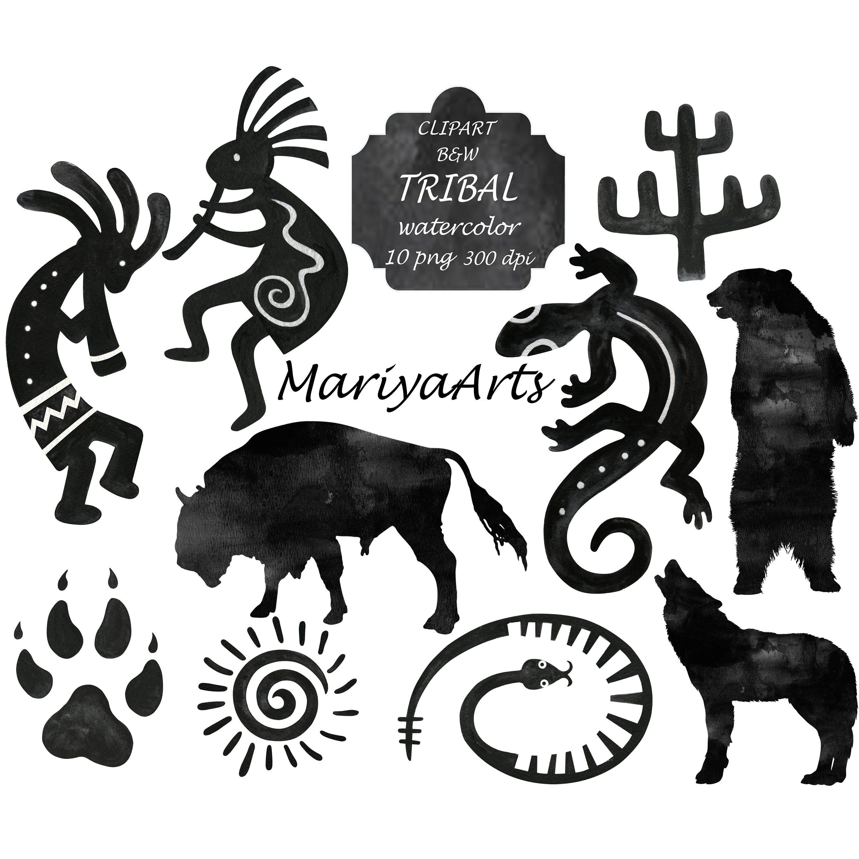 Ojibwe Clan Symbols Animal Totems Native American Art