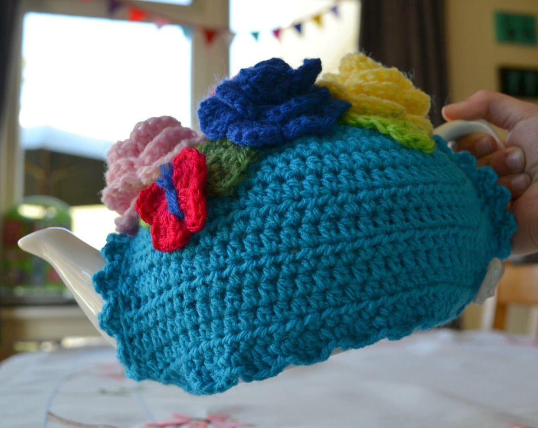 Crochet tea cosy free pattern 4