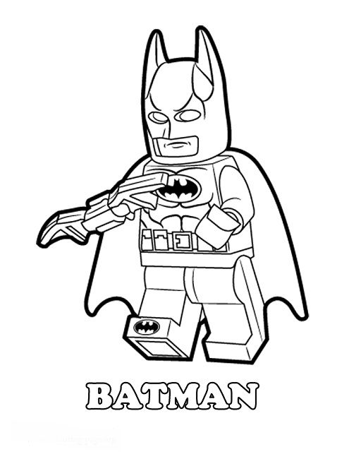 Batman Coloring Pages Online Wonderful Lego Intended