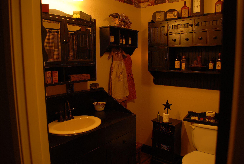 Primitive Bathroom Prims Pinterest