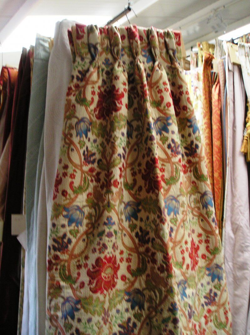 Superb 1360B   Tapestry Curtains Pinch Pleat Lined U0026 Interlined :: Full Details    £225.50