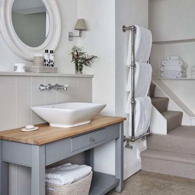 151 Remarkable Small Farmhouse Bathroom Decor Ideas And Remodel Bathroomdecor Bath Small Farmhouse Bathroom Farmhouse Bathroom Decor Modern Country Bathrooms