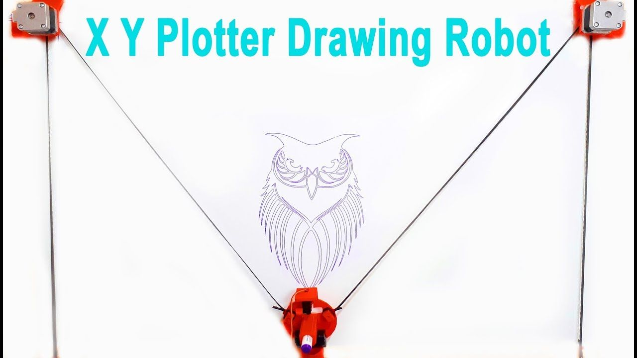 XY Plotter Drawing Robot Machine | Arduino | Polargraph