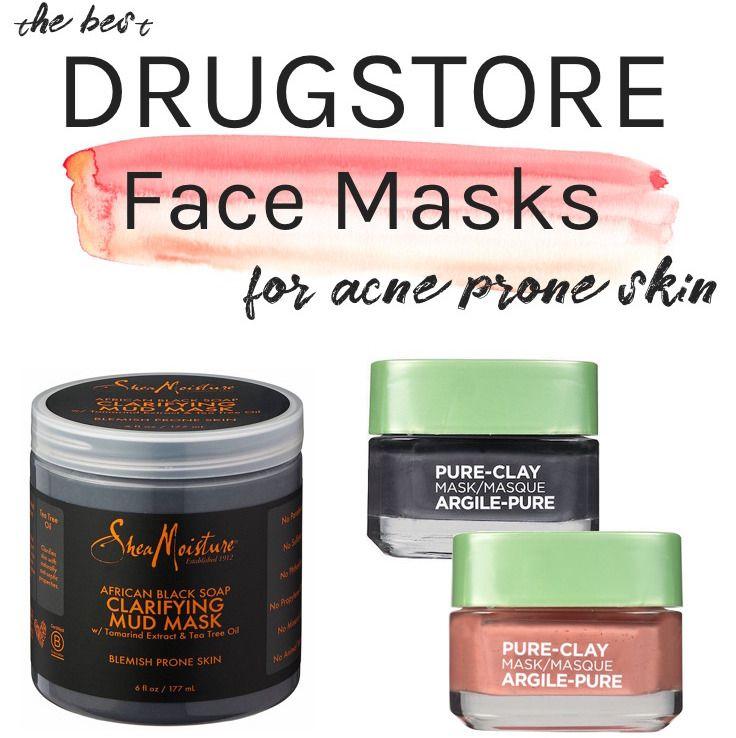 Best Face Masks For Acne Prone Skin: Best Drugstore Face Masks For Acne-Prone Skin (All Under