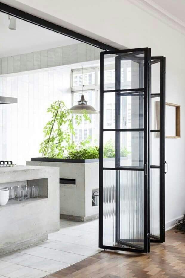 Pin by Asude Gül Körk on homes | Pinterest | Bi folding doors, Doors ...