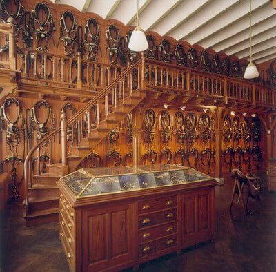 10 of the most beautiful tack rooms ever favorite places spaces rh pinterest com Farm Tack Room Barn Tack Room