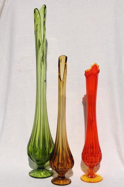 Swung Vases Glassies Us Viking New Martinsville Pinterest