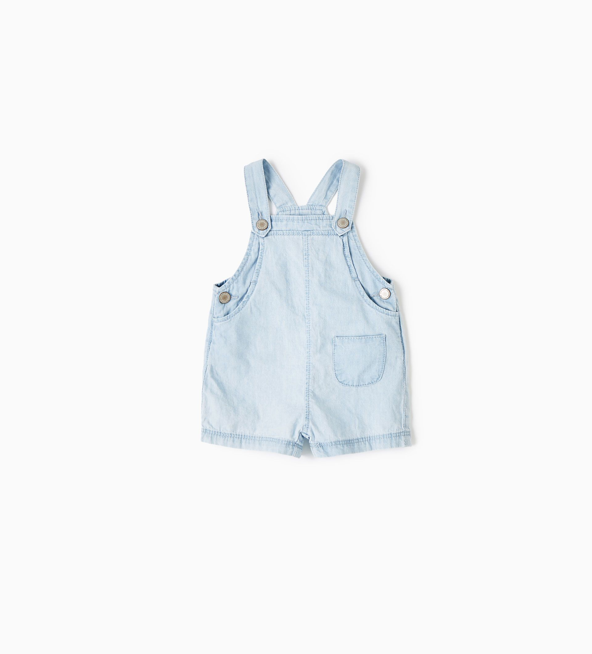RELAXED DENIM DUNGAREES for baby from Zara | Baby Gifts | Pinterest ...
