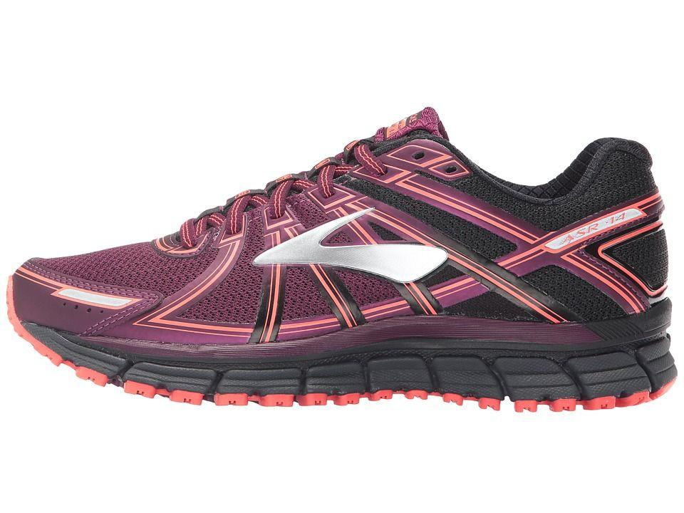 stable quality fantastic savings 100% genuine Brooks Adrenaline ASR 14 Women's Running Shoes Black/Ebony ...