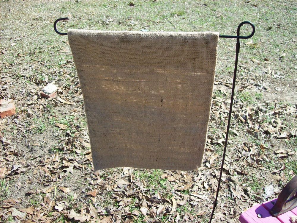 12 Wholesale Custom Made Burlap Garden Flag Blank For Painting Embroidery Vinyl Burlap Garden Flags Embroidery Blanks Burlap
