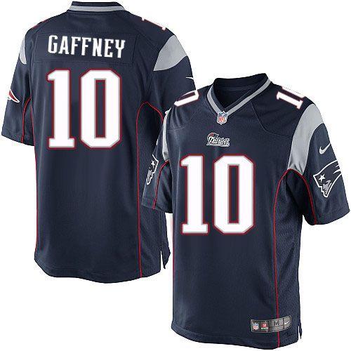 Men Nike New England Patriots #10 Jabar Gaffney Limited Navy Blue ...