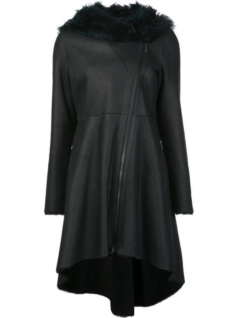 ZAC ZAC POSEN 'Vivienne' toscana shearling coat. #zaczacposen #cloth #'vivienne'托斯卡尼皮毛外套