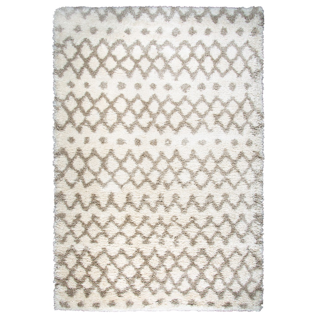 Rizzy Home Amelia Adana Collection Geometric Rug White 8x10 5 Ft