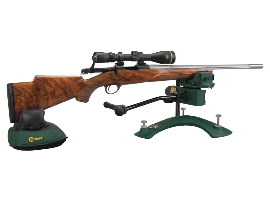 Caldwell Fire Control Rifle Front Shooting Rest A Stable Uncluttered Set Up Though Better With