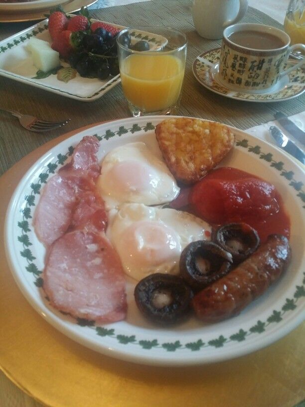 Perfect fry up :-)