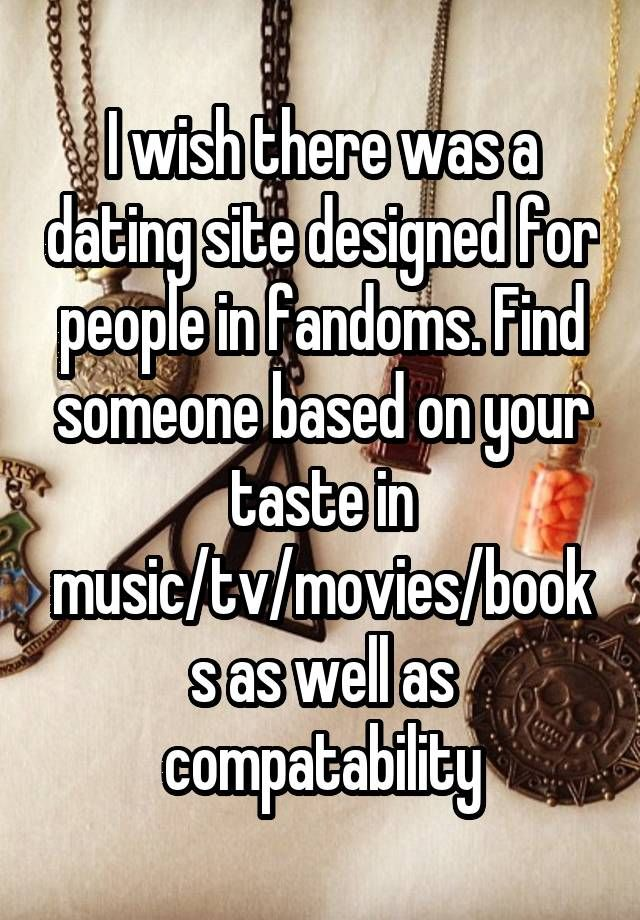 Dating website based on music taste based