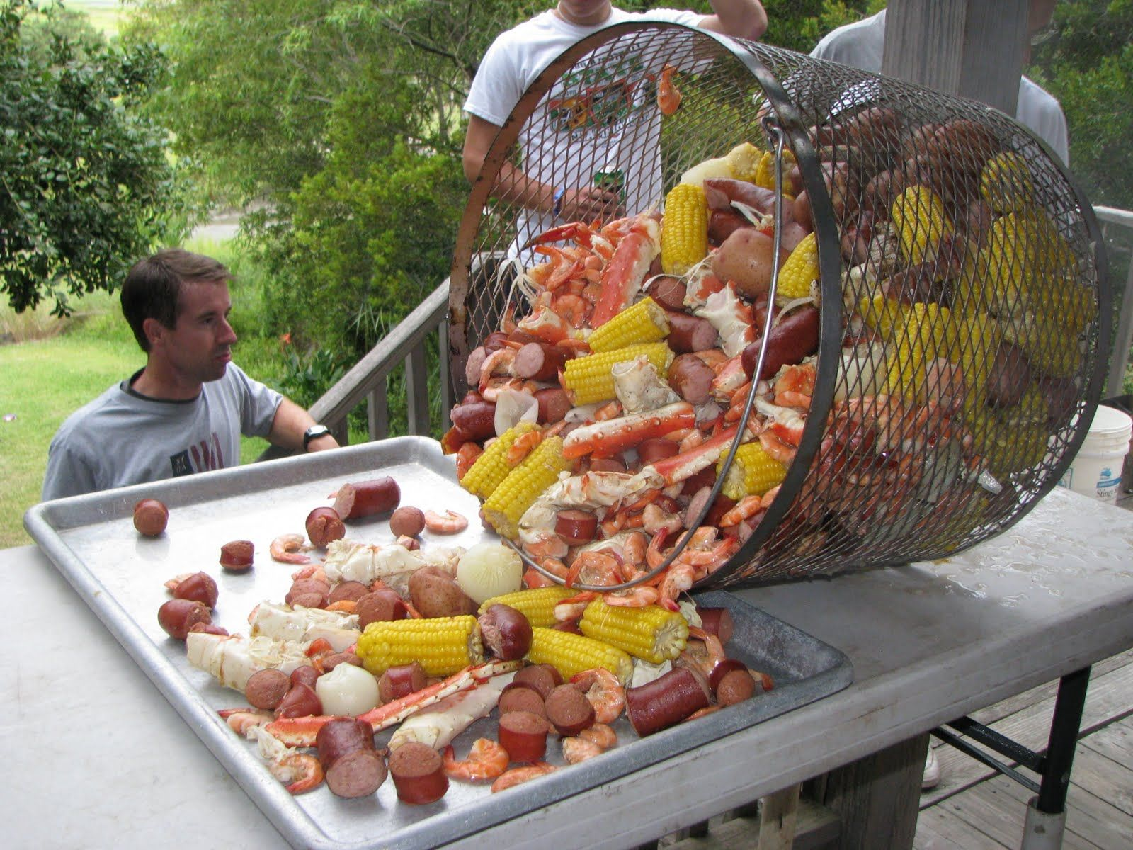 Low country boil halloween wedding pinterest