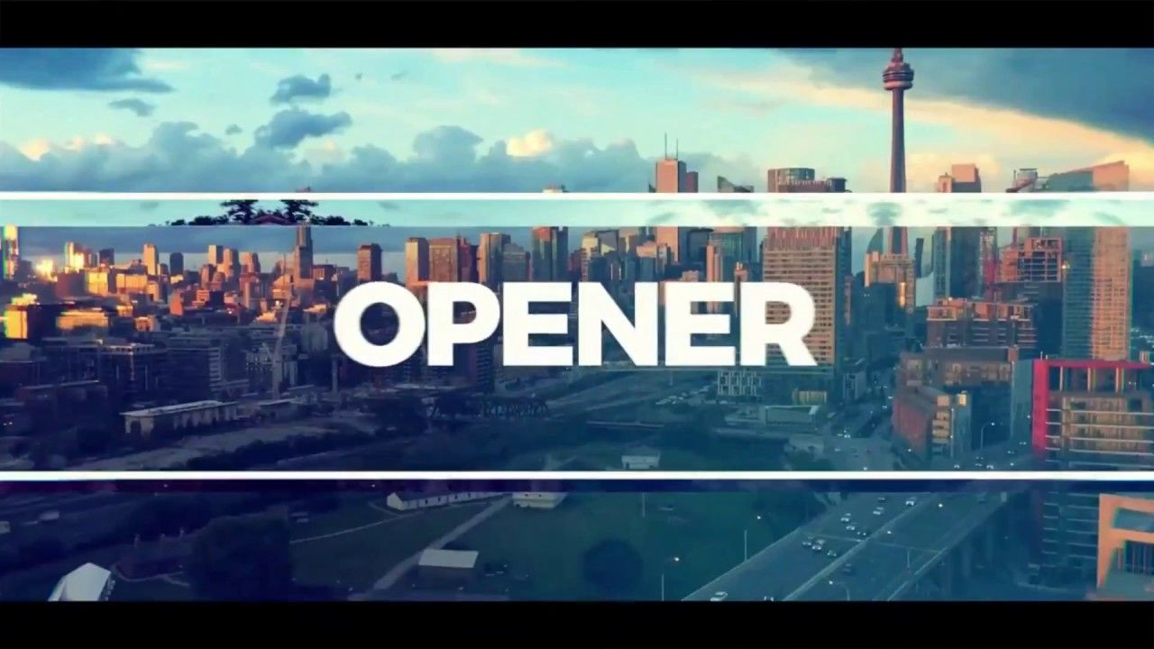 Typography Opener After Effects Template Free After