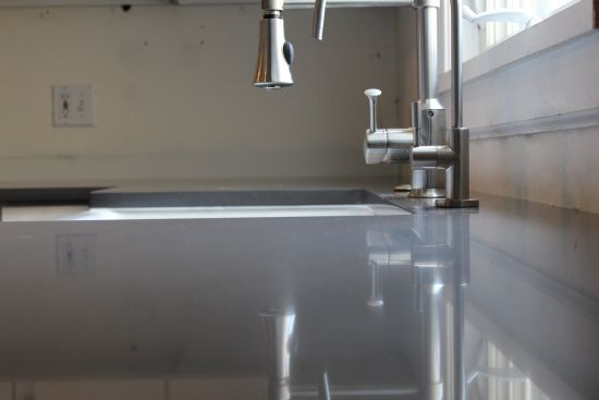 Grey Quartz Countertop Colr Silestone Marengo