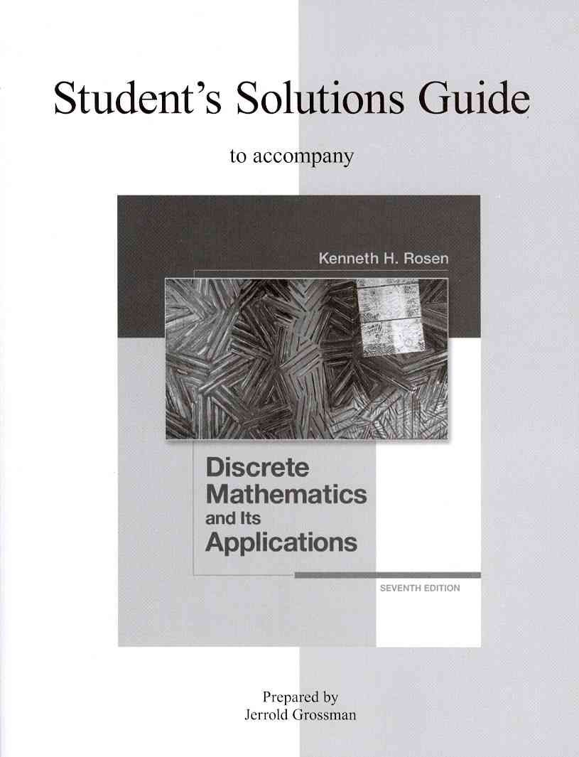 Discrete Mathematics and Its Applications | discrete mathematics |  Pinterest | Online book store and Products