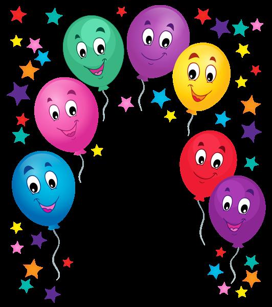 balloons cartoon decoration png clipart picture luftballons rund pinterest cartoon Disney Christmas Border Disney Paper Border
