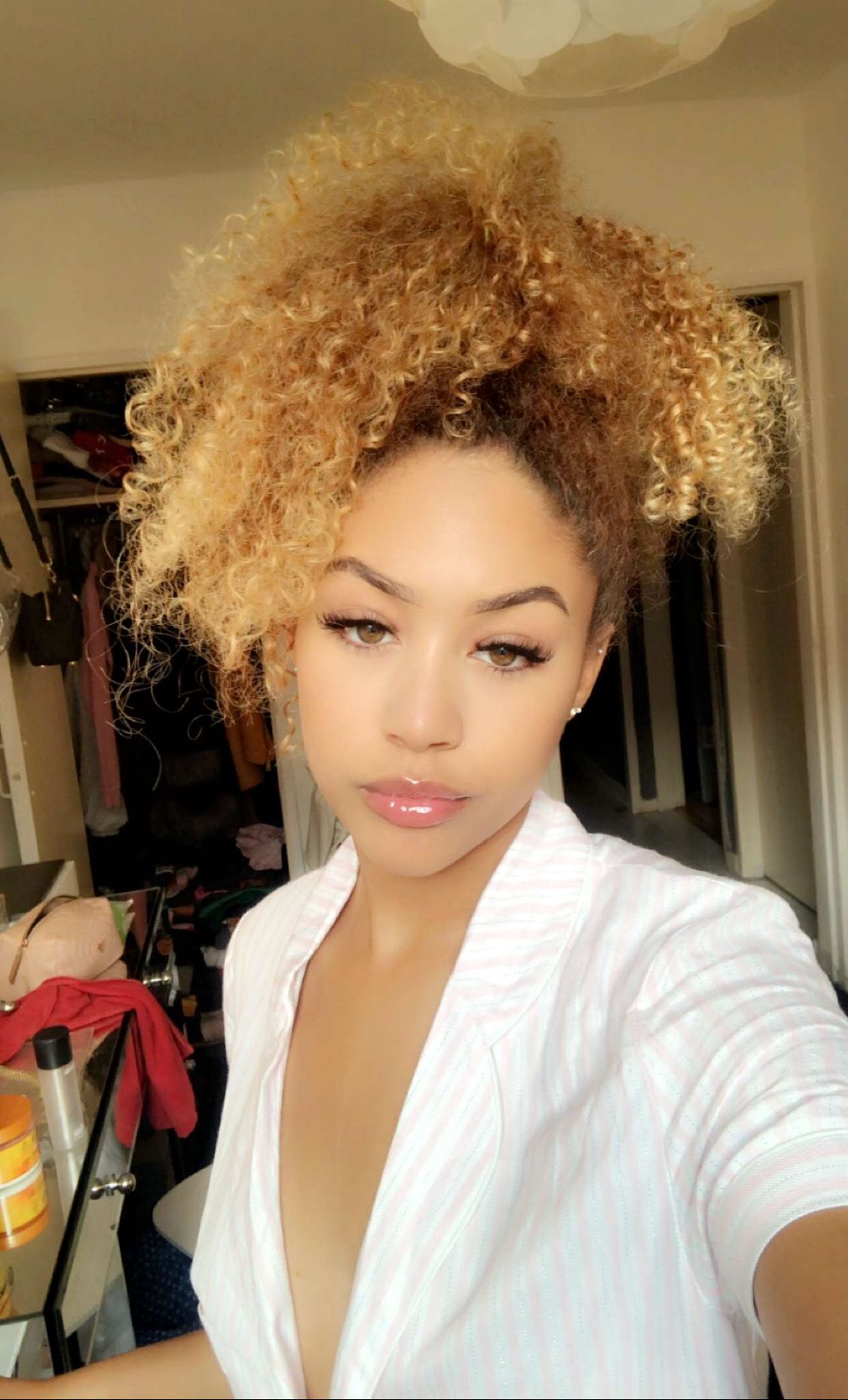 Love Everything About This Look Natural Hair Styles Honey