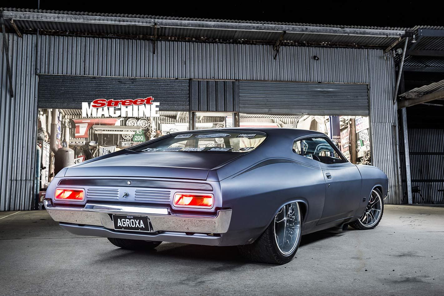 Gary Myers S Blown 1972 Ford Falcon Xa Coupe Agroxa In 2020