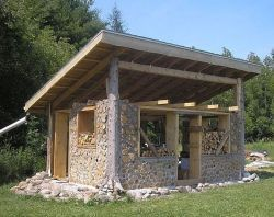 Pictures Of Cordwood Homes Construction | Cordwood Construction